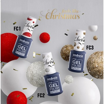 Kit Verniz The Gel Polish Andreia Natal