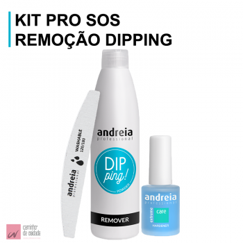 Kit Remover Dipping Andreia Pro SOS