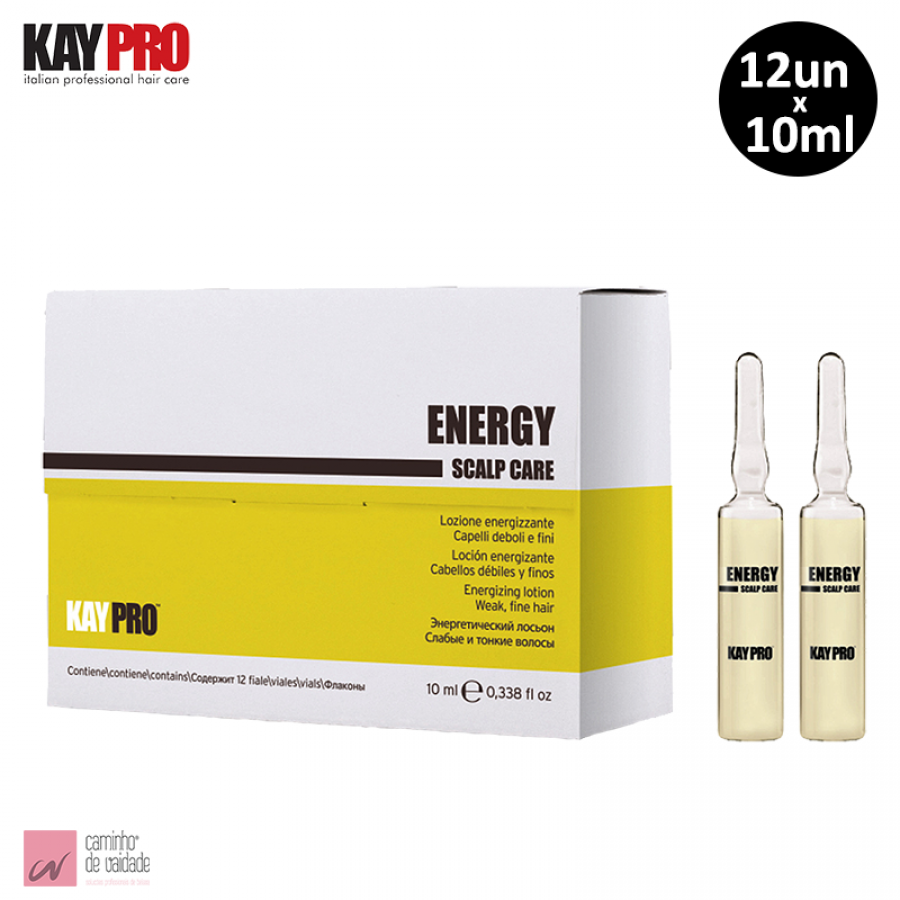 Ampolas Anti-Queda Kaypro 12 x 10 ml
