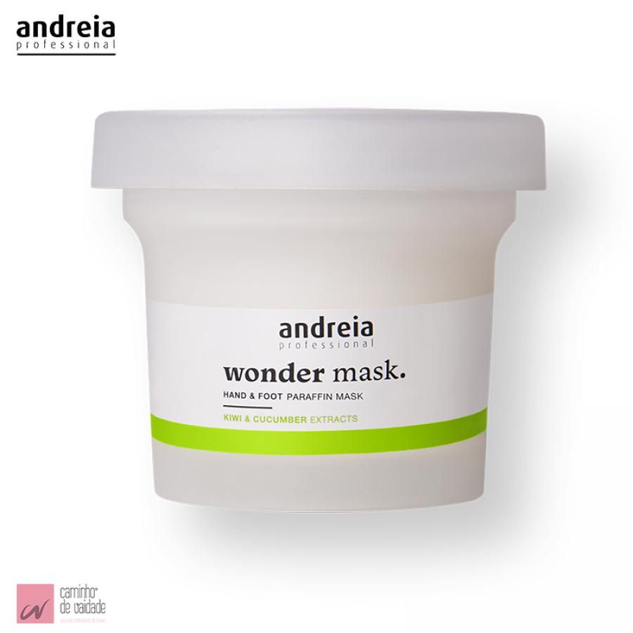 Máscara de Parafina para Mãos e Pés Andreia 200 ml