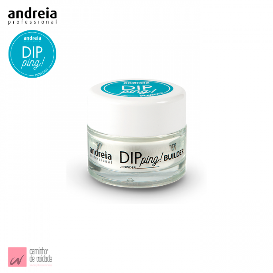 Dipping Powder Builder Branco Leitoso Andreia 30 gr
