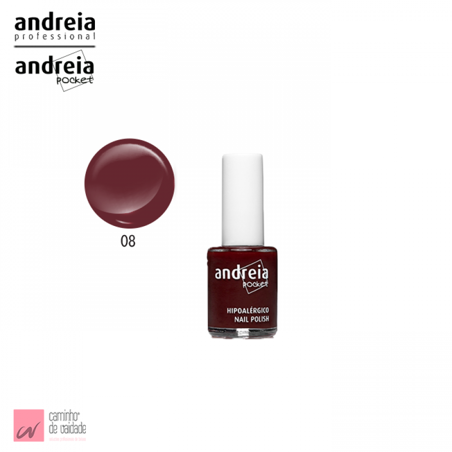 Verniz Pocket  Andreia 8 10.5 ml