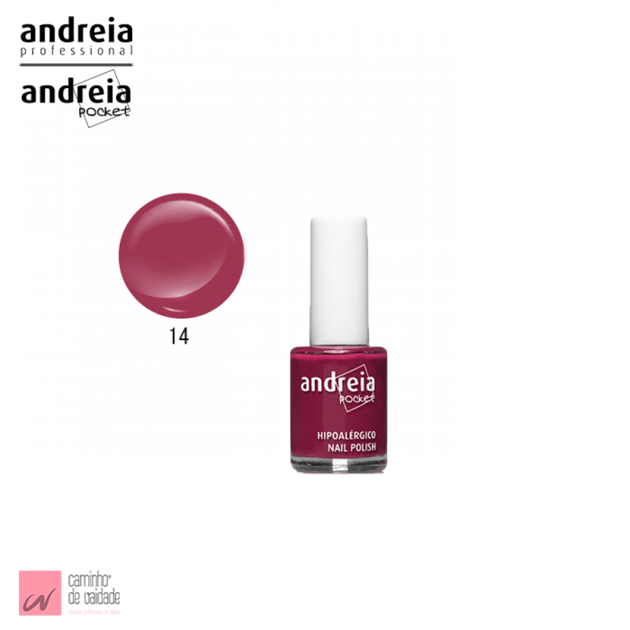 Verniz Pocket  Andreia 14 10.5 ml