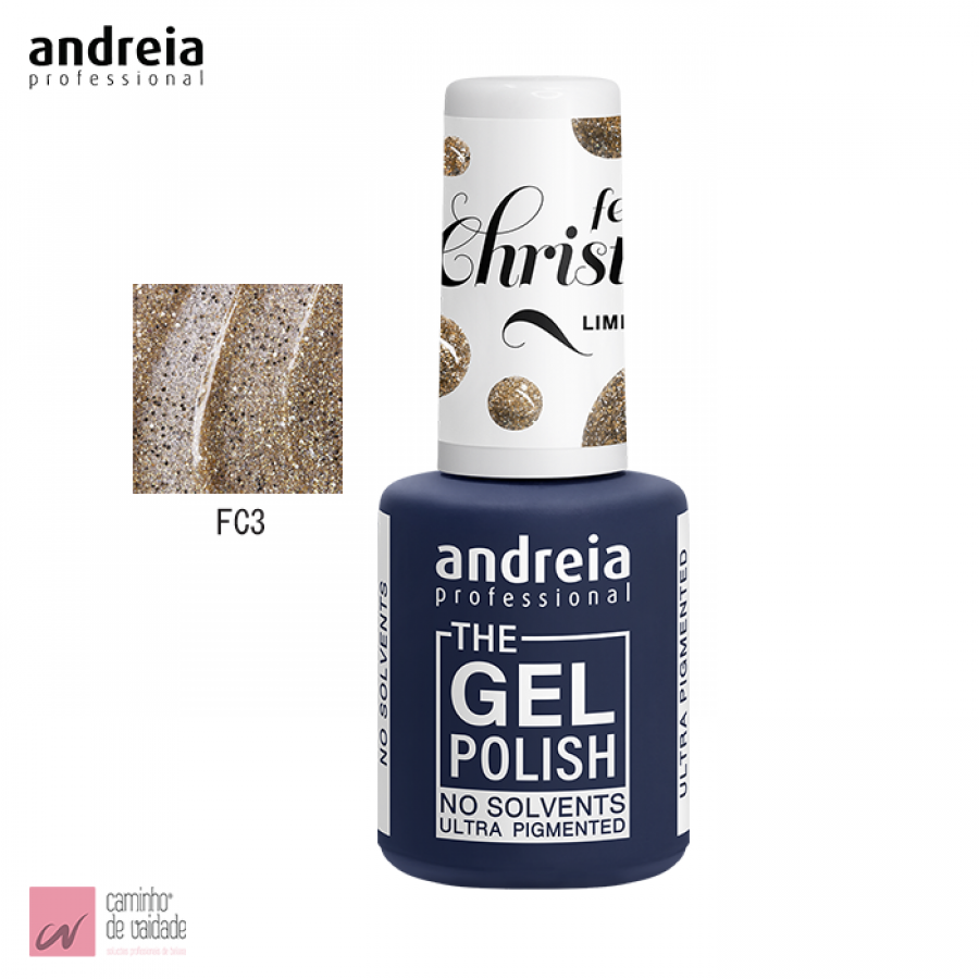Verniz The Gel Polish Andreia FC3