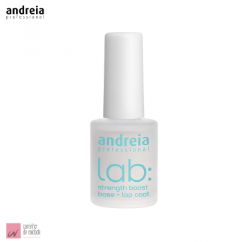 Base e Top Coat Fortificante Lab Andreia 10.5ml