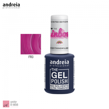 Verniz The Gel Polish Andreia FR3