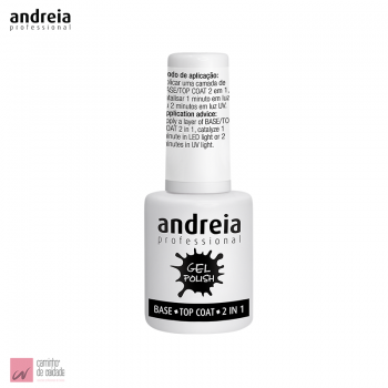 Base / Top Coat  2 em 1 Andreia 10.5 ml